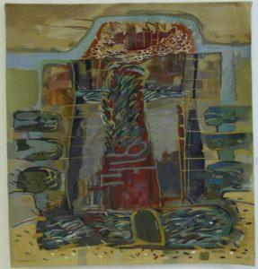 Cetate, 2002 tapiserie, 1,500x1,400mm