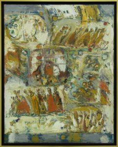 Procesiune, 2008, ulei pe pînză, 1000x800mm