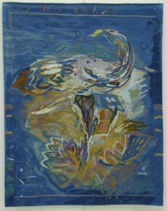 Balada Lunii, 2003, tapiserie, 220x130cm
