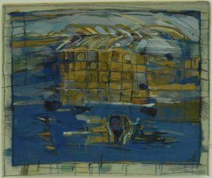 Metaforă, 2004, tapiserie, 1,300x1,300mm