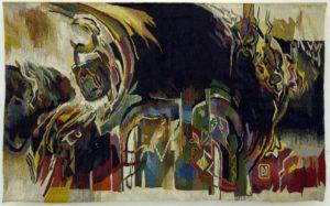 Cetate, 2002, tapiserie, 1,500x1,400mm